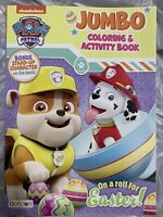 Nickelodeon Paw Patrol Jumbo Coloring And Activity Book On A Roll For Easter