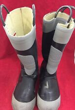 SERVUS Firebreaker Fire Fighter Boots Various Sizes Black/Gray See Listing