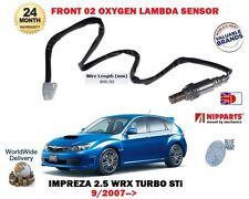FOR SUBARU IMPREZA 2.5 WRX STI EJ257 2007> FRONT PRE CAT OXYGEN O2 LAMBDA SENSOR