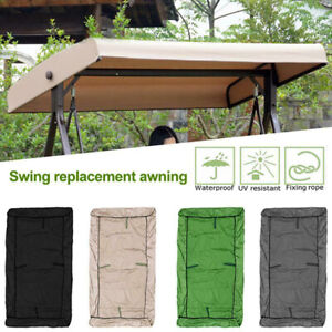 Replacement Canopy Top Hammock Cover for Garden Patio Outdoor Seater Swing Chai