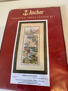 Anchor Cross Stitch Kit- Parklands Waters