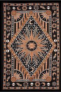 Burning Sun Tapestry Boho Indian Wall Hanging Wholesale Bulk (77cmX102cm) Bi-01