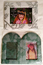 Island Treasures Set of Two Photo Frames (Single & Double) Designed in Hawaii