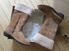 UGG Boots Karyn Chestnut Suede 7 NEW $200