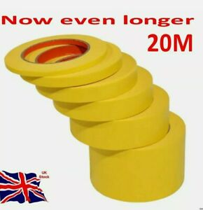 Modelling Masking tape 1mm to 40mm size Craft use - Hobby and paint