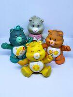 Care Bear Bears PVC Figure Lot of 4 Vintage Original