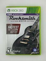 Rocksmith 2014 Edition - Xbox 360 Game - Tested