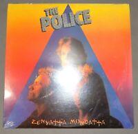 SEALED club pressing rock lp THE POLICE Zenyatta Mondatta 1980 A&M SP-3720 Sting