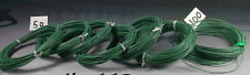 22 GAUGE GREEN HOOKUP WIRE,Tin plated Copper, **QTY=100 feet**