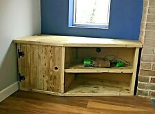 Reclaimed Wood TV Unit / Media Cabinet - Rustic Style - Made to Order