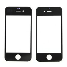A++ For iPhone 4S Black Front Touch Screen Glass Cover Lens High Quality
