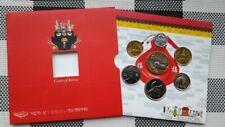 2002  SOUTH KOREA  6 coin set + token
