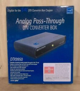 New in box, Digital Stream, DTX9950, TV converter box