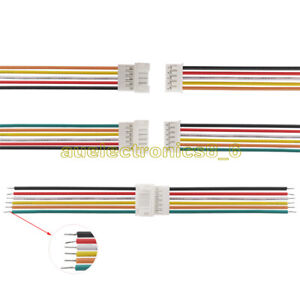 NEW JST-PH 2.0 20CM 26AWG 2P 3P 4P 5P 6Pin Micro Male Female Plug Jack Cable