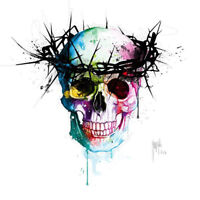 GOD SAVE THE QUEEN SKULL BY PATRICE MURCIANO POP ART PRINT KEYRING-MUG-ART PRINT