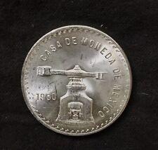 1980 MEXICO SILVER ONZA ONE OZ COIN UNCIRCULATED