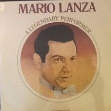 "STILL  FACTORY SEALED LP: Mario Lanza ""A Legendary Performer"" RCA"