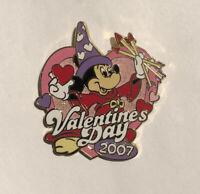 Disney HKDL 5TH Stained Glass Mickey Sorcerer Jumbo Pin Pin NIB