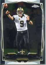 TOPPS CHROME FOOTBALL 2014 vétéran Carte #17 Drew Brees New Orleans Saints