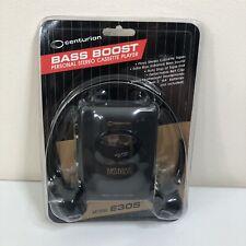New Vintage Centurion Cassette Bass Boost Cassette Player Headphones E305 Tape
