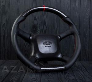 99-02 GMC Custom Carbon Steering Wheel Sierra Tahoe Silverado Suburban S10