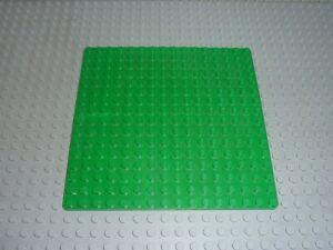 Plaque de base LEGO Green Baseplate 16x16 ref 3867 Set 6548/6085/6262/6597/6636
