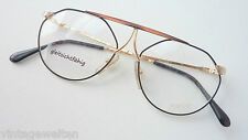 Extravagant Vintage Glasses Frames Black markengestell Round Glasses Size S
