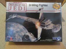 MPC Vintage Star Wars ROTJ Model Kit B-Wing Fighter Snap 1983 MISB Sealed