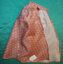 """Red Check Cape 18"""" Supersize Barbie, American Girl, 22"""" Hannah Montana SSC237"""