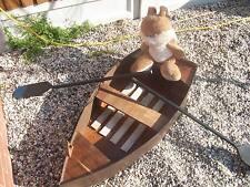 Wooden BOAT PER GIARDINO/Canottaggio Barca/Foto di scena/decorazione giardino/differe esposizione negozio
