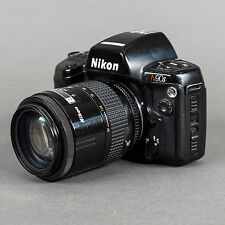 Nikon N90s Auto-Focus 35mm Film Camera w/Nikor 35-105mm f/3.5 Macro Lens, Manual