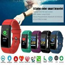 Reloj Inteligente Fitness Salud Deporte Impermeable rastreador de actividad Pulsera Muñequera