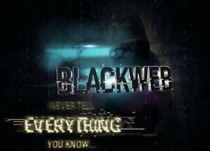 BLACKWEB LIVE USB - PRO HACKING OPERATING SYSTEM  2500+ TOOLS HACK ANY PC FIX!_
