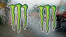 Monster Energy Claws Racing Rally Decal Drift Laptop Car Window Vinyl Sticker