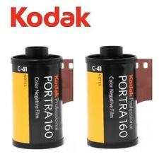 2 Rolls x KODAK PORTRA 160 ISO 35mm 135 36exp 135-36 Pro Color Negative Film