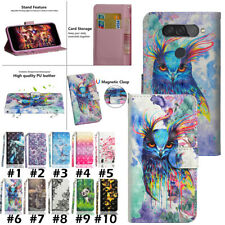 For LG stylo 5 K40S Q8 Q7 K30 K40 Luxury Flip Wallet PU Leather Phone Case Cover