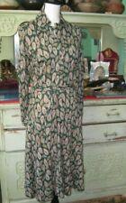 Vintage Diane Von Furstenberg Dress 1970's Green Paisley