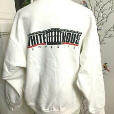 Vintage Fruit of the Loom White House Properties Crewneck Sweater 1990's Sz. L