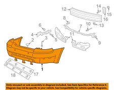 Mercury FORD OEM 08-09 Sable Rear Bumper-Cover 8T5Z17K835CAPTM