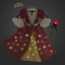 Disney Store Limited Deluxe Belle Interactive Costume Dress Beauty And The Beast
