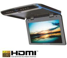 AMPIRE OHV101-HD Full-HD Deckenmonitor Klappbar 25.6cm (10,1'') mit HDMI LED