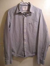 ABERCROMBIE & FITCH mens button down long sleeve dress shirt XXL