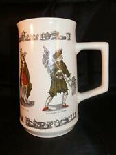 STUNNING VINTAGE HOLKHAM POTTERY CRIES OF LONDON STREET SELLERS TANKARD MUG
