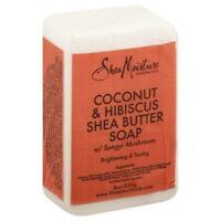 Shea Moisture Coconut Hibiscus Bar Soap-8 oz