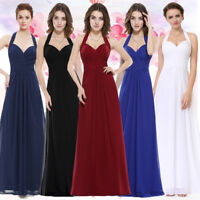 Ever-Pretty Long Halter Prom Sleeveless Party Bridesmaid Evening Dresses 08487