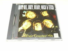 """DAVE DEE, DOZY, BEAKY, MICK & TICH """"THEIR GREATEST HITS"""" CD CLASSIC"""
