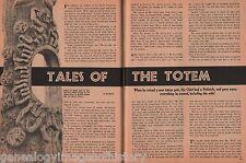 Tales Of The Totem Pole - History, Legends, Symbols+CHIEF GUM-LU-GIDIS,Fogwoman