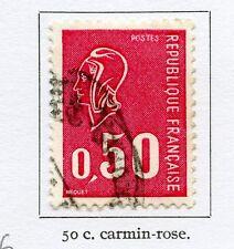 TIMBRE FRANCE OBLITERE N° 1664 MARIANNE DE BECQUET