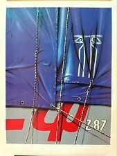KLASEN Peter Lithographie Originale Signée Figuration Narrative