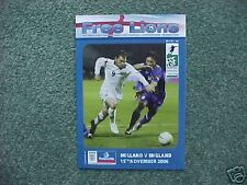 2006 Free Lions Fanzine Issue 66 Holland v England MINT